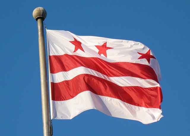 Image of DC flag from Mr. Tin DC
